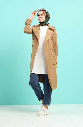 Kamel Trench Coats Models 25001-03