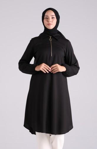 Tunique Noir 1218-01