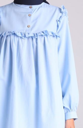 Tunique Bleu Bébé 1436-08