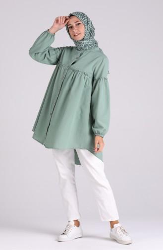 Tunique Vert noisette 1445-01