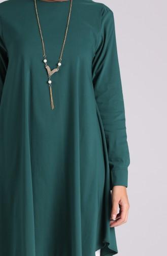 Tunique Vert emeraude 5024-06