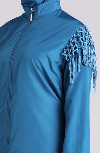 Maillot de Bain Hijab Pétrole 20204-04