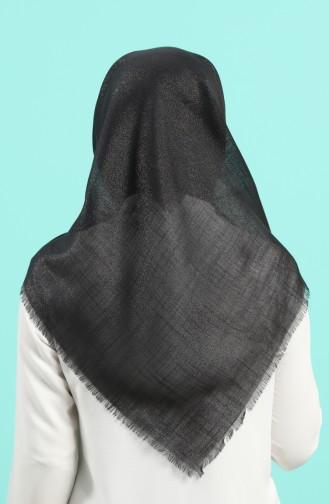 Schwarz Kopftuch 2527-01