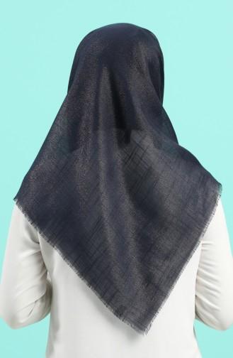 Echarpe Bleu Marine 2527-08