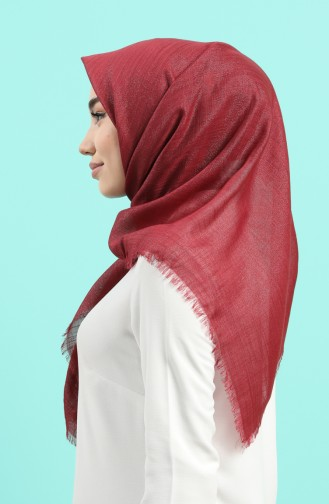Claret red Scarf 2527-12