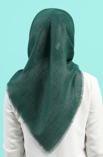 Echarpe Vert emeraude 2527-15