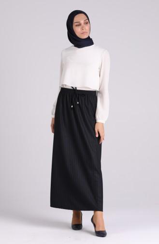 Navy Blue Skirt 9006-01