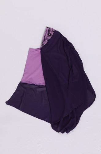 ملابس السباحة أرجواني 04
