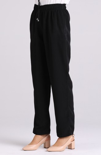 Pantalon Noir 0185-01