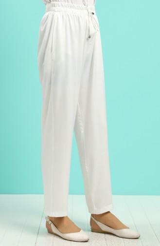 Pantalon Ecru 0185A-02