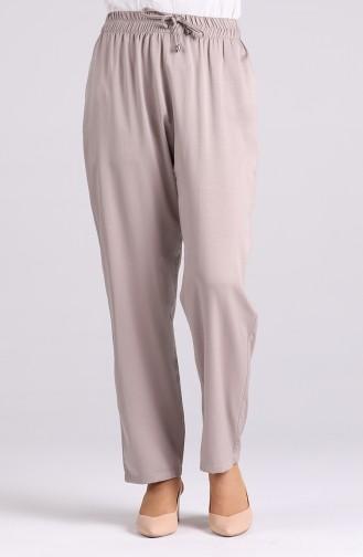 Elastic Skinny Trousers 0185a-05 Mink 0185A-05