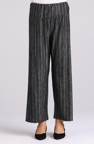 Pantalon Noir 64002 -01