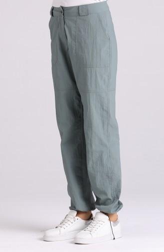 Pantalon Vert noisette 11007-01