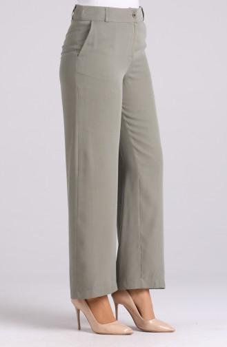 Pantalon Vert noisette 11015-04