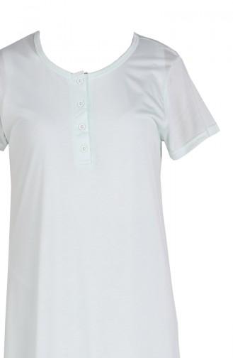 Wassergrün Pyjama 0934-01