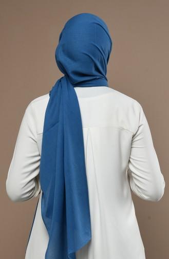 Jeansblau Schal 19052-14
