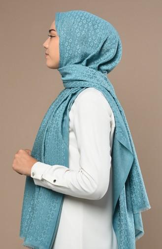 شال أزرق مائل الى الأخضر 70167-12