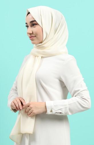 Cream Sjaal 90700-06