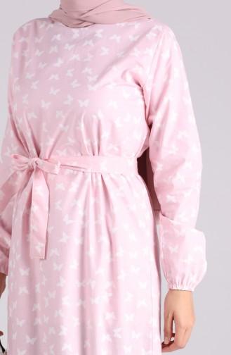 Robe Hijab Poudre 4601-03