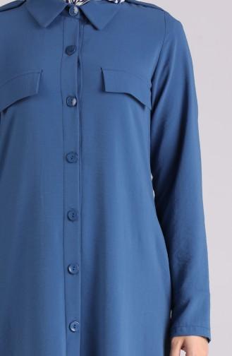 Robe Hijab Indigo 0920-03