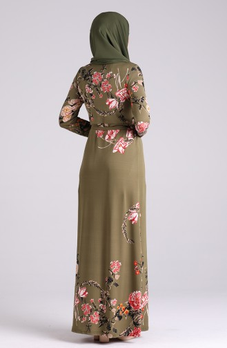 Robe Hijab Khaki 5709N-03