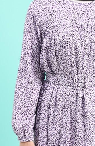Lila Hijap Kleider 8092B-03