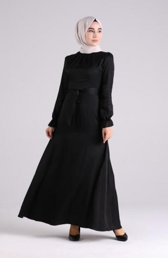 Black İslamitische Jurk 60184-01