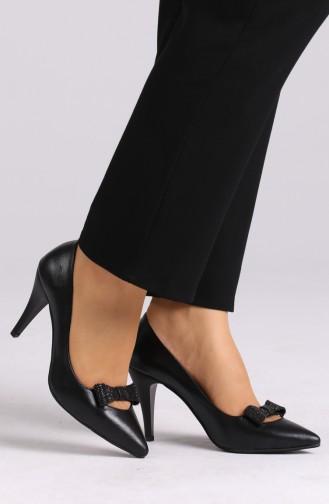 Chaussures a Talons Noir 0012-05