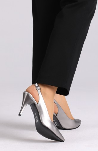 Chaussures a Talons Platine 0032-08