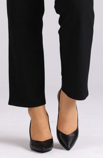 Chaussures a Talons Noir 0032-10