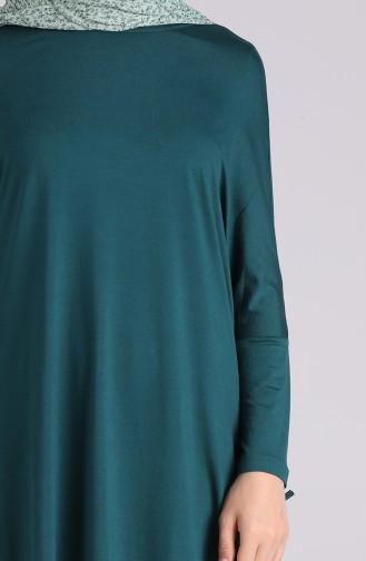 Smaragdgrün Tunikas 3175-01