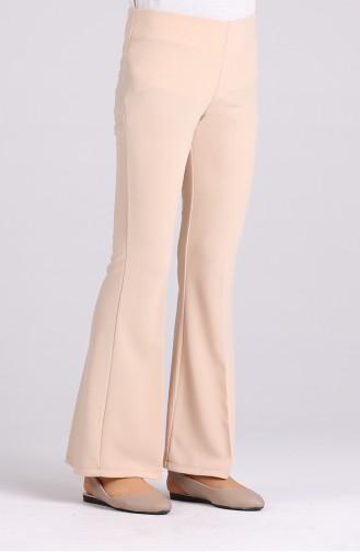Straight Leg Pants with Elastic Waist 4088-09 Damson 4086-14