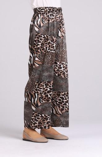 Pantalon Couleur Brun 2164-02
