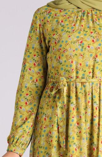 Pistaziengrün Hijap Kleider 20Y3064001-02