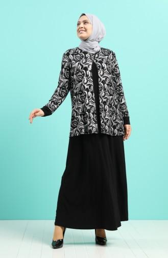 فستان أسود 1284-01