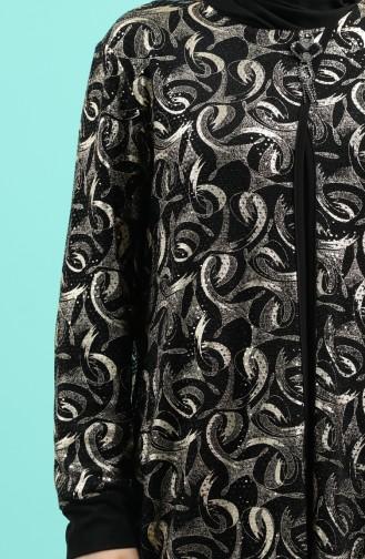 فستان أسود 1284-03