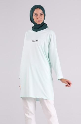 Tunique Vert menthe 2249-05