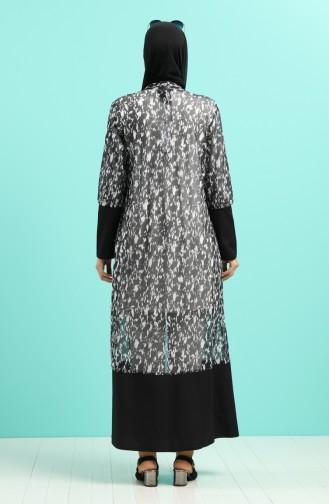 Schwarz Kimono 2042-01