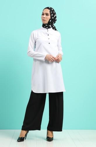 Pantalon Noir 11014-03