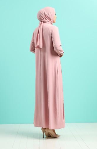 Robe Hijab Poudre 1314-01
