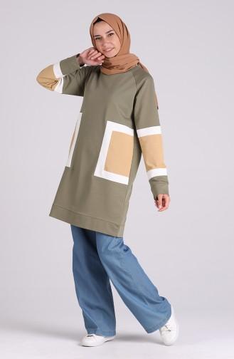 Khaki Tunic 0306-02