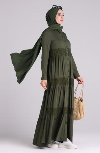 Robe Hijab Khaki 8259-04