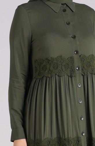 فستان كاكي 8259-04