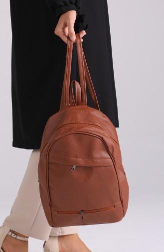 حقيبة ظهر بُني 10602KA