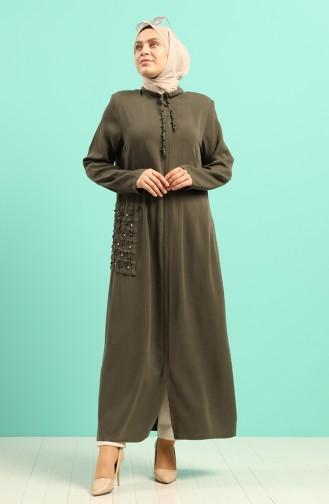 Dunkelgrün Abayas 0368-01