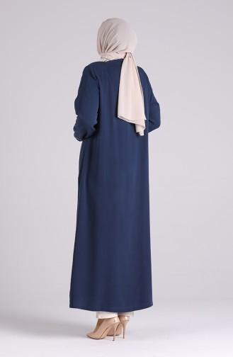 Abayas Bleu Marine 0368-02