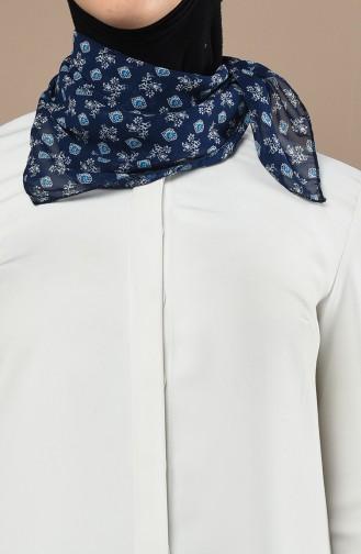 Foulard Bleu Marine 61552-01