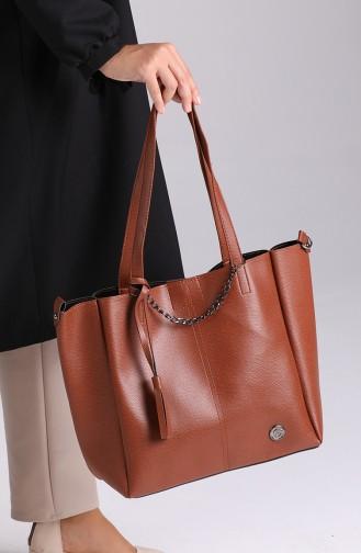 Brown Shoulder Bag 195KA