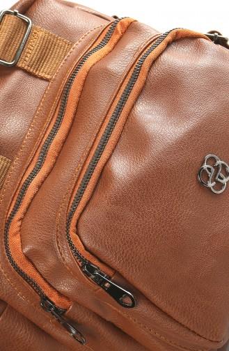 Tobacco Brown Shoulder Bag 3024-04