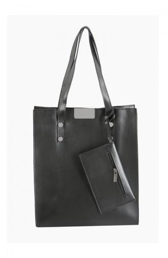 Black Shoulder Bag 3025-01